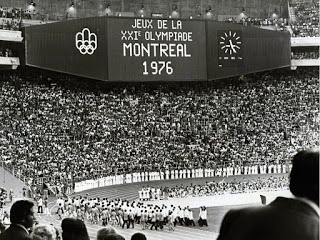 Image of Opening Ceremony of the 1976 Montréal Olympic Games, July 17, 1976.