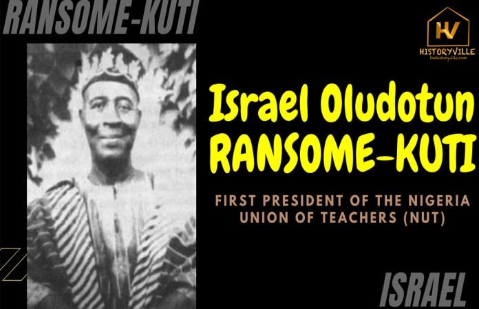 Israel-Oludotun-Ransome-Kuti