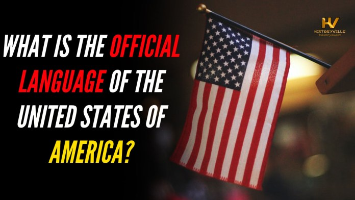 official language of the united states of america