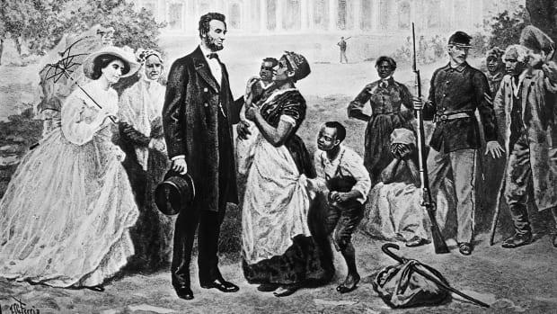 abraham-lincoln-black-slaves-white-house