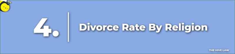 Divorce Rate By Religion - Catholic Divorce Rate - Mormon Divorce Rate - Jewish Divorce Rate - Christian Divorce Rate