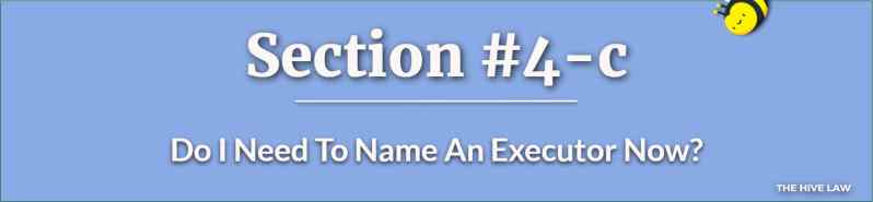 Naming An Executor - Last Will and Testament Georgia