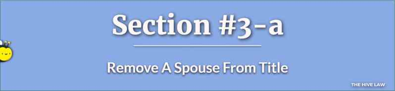 Remove A Spouse From Title With A Quit Claim Deed Georgia