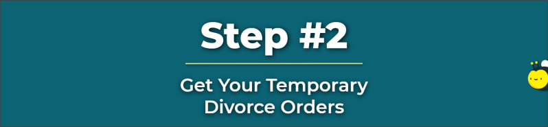 Temporary Divorce Orders - Temporary Orders - Who Should File For Divorce