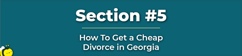 cheap divorce in georgia - how much is a divorce in ga - how much does the average divorce cost