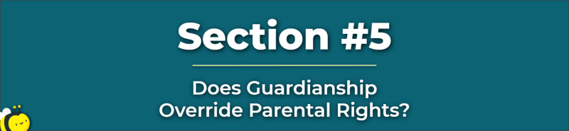 does guardianship override parental rights - giving custody to grandparents - do grandparents have rights