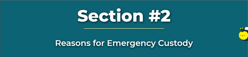 reasons for emergency custody - emergency motion to modify child custody - can you change custody agreement without going to court