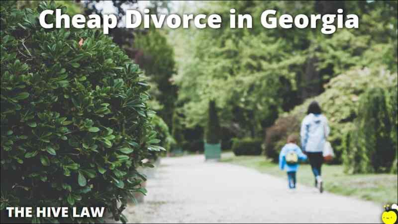 Cheap Divorce in Georgia