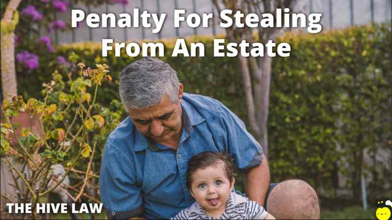 Penalty For Stealing From An Estate - Inheritance Theft Laws - My Inheritance Was Stolen - Theft From Estate Before Inventory - Inheritance Theft By Sibli