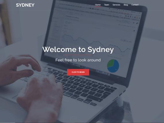 sydney Best Free Themes For WordPress
