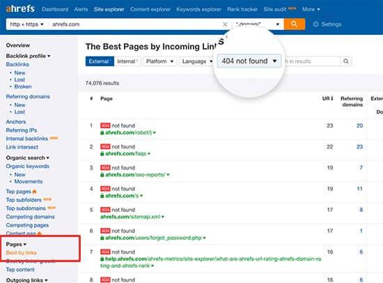 best by links - How to Fix Broken Links in WordPress