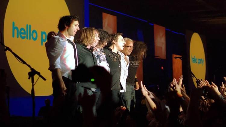 Foreigner rock band concert