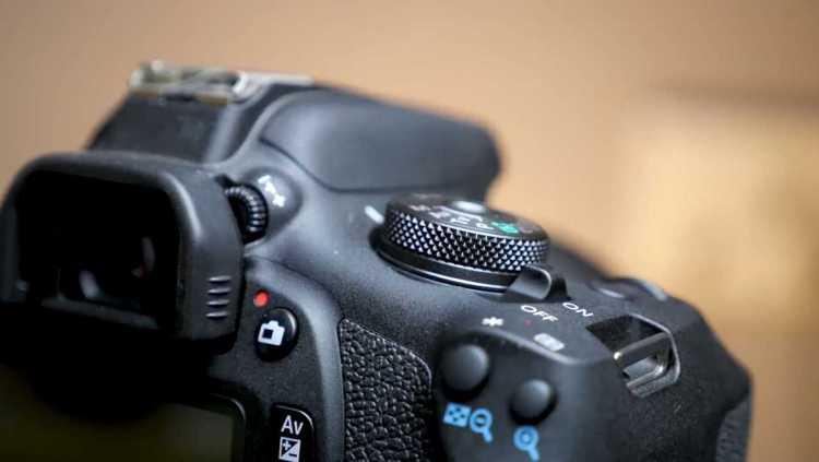 Canon eos buttons