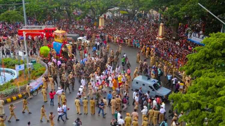 Jamboo savari in mysore dasara