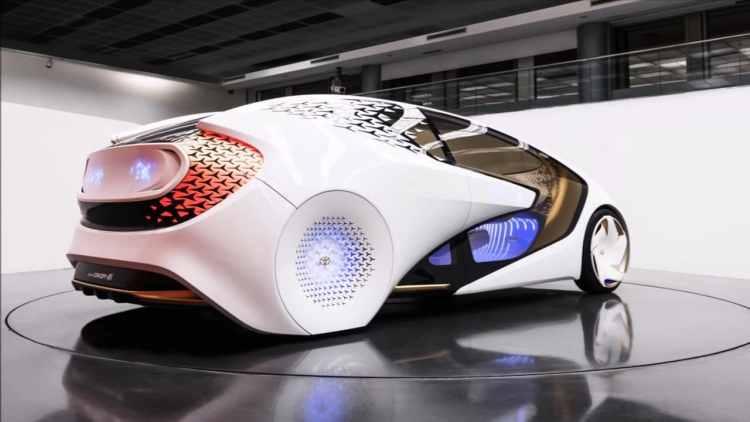 Toyota concept-i supercar