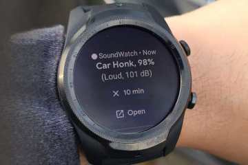 Hearing app on smartwatch