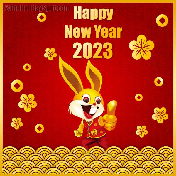 Kết quả hình ảnh cho a happy new year card 0f 2018, year of the dog