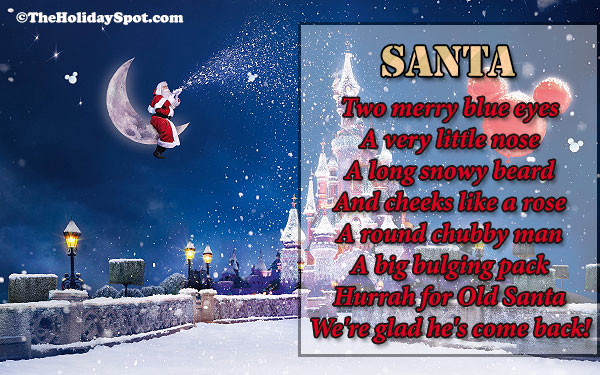 Christmas Poems Short Christmas Poem Poems About