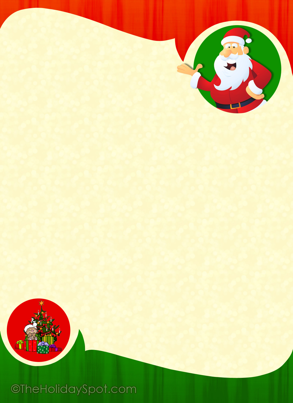 17 Christmas Paper Templates