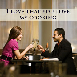 you love my cooking