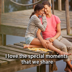 special moments that we share