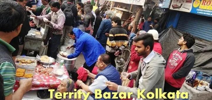 Territy bazar Kolkata | Best Chinese food breakfast | New year party