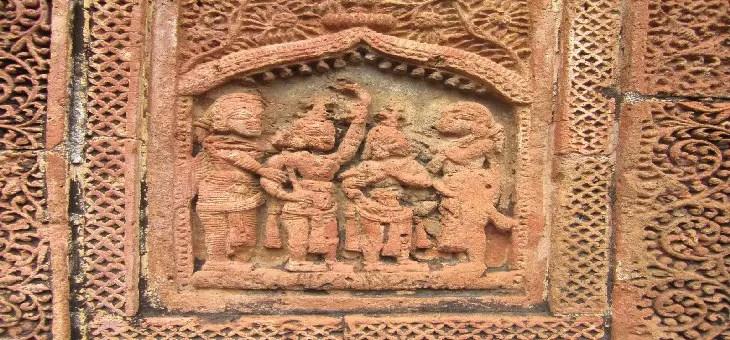Bishnupur terracotta art