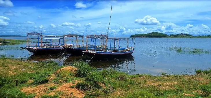 Kangsabati river mukutmanipur