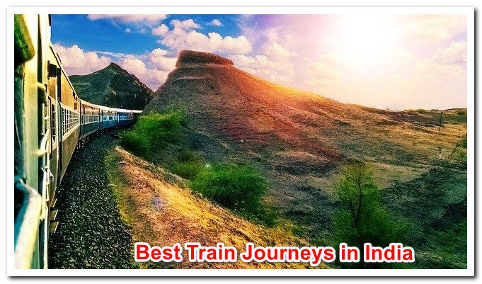 22 Best Train Journeys in India with Amazing Railway Routes