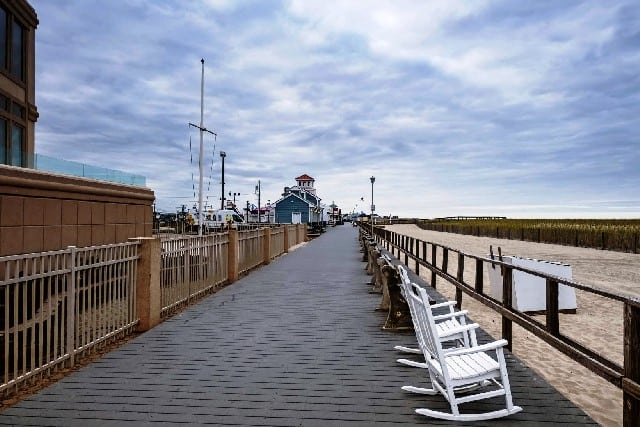 Point pleasant beach in New Jersey United States