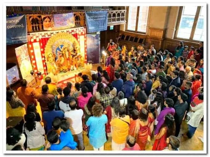 Spandan - Croydon Bengali Association Durga Puja London
