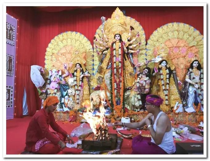 Mumbai Durga Puja rituals
