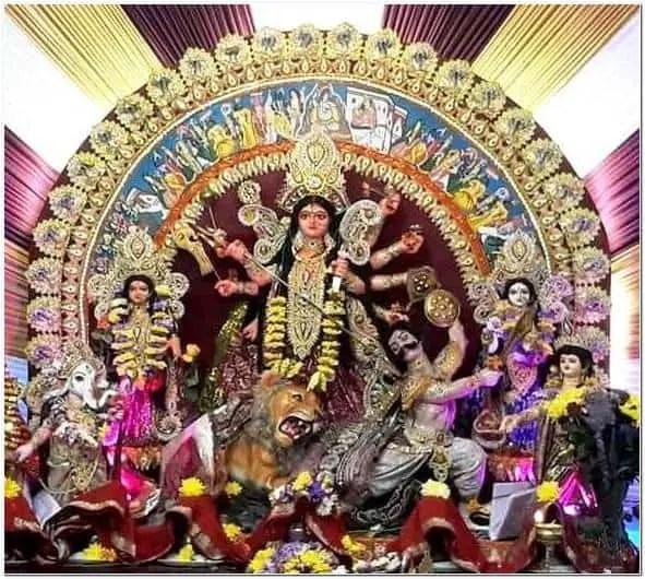 Hindu Pragati Sangha, Mile End, London durga puja