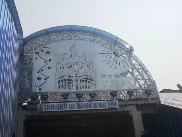 Dakshineswar skywalk project
