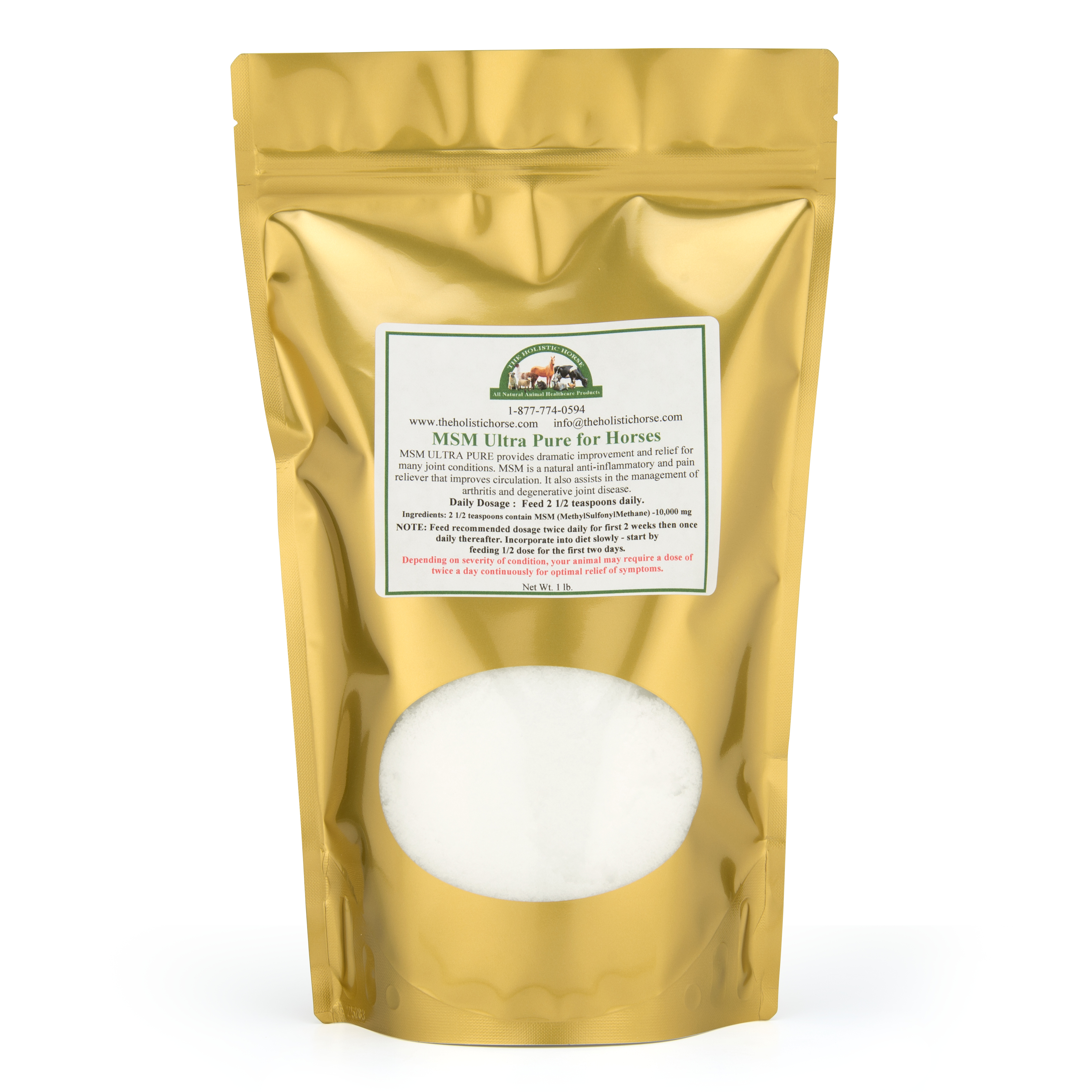 MSM Ultra Pure powder for Horses