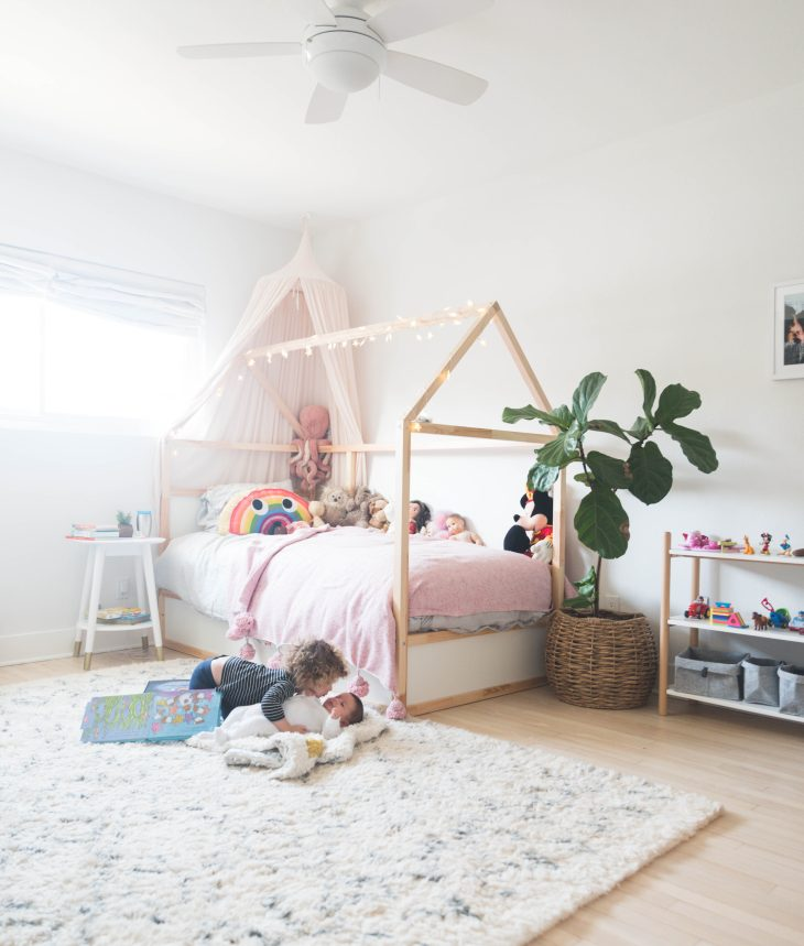 The Hollar-days - Margot\'s Big Girl Room + Ikea Bed Hack