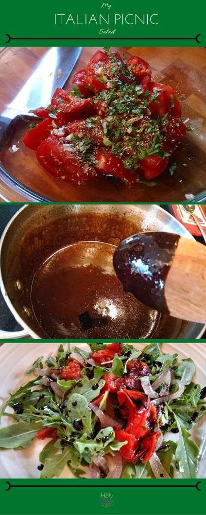 My Italian Picnic Salad|The Holy Mess