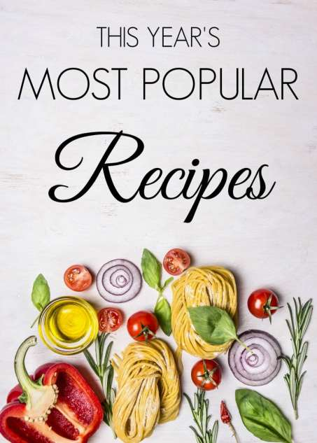 This Year's Most Popular Recipes The Holy Mess