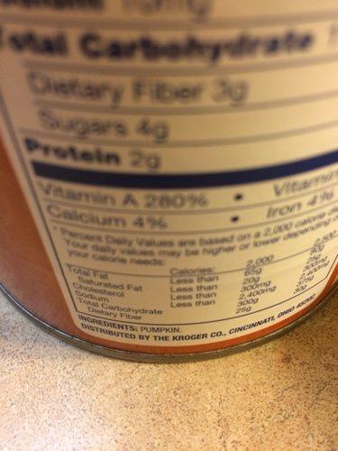Canned Pumpkin