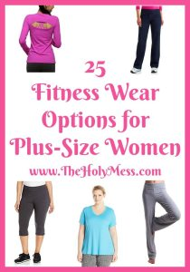 25 Fitness Wear Options for Plus-Size Women|The Holy Mess