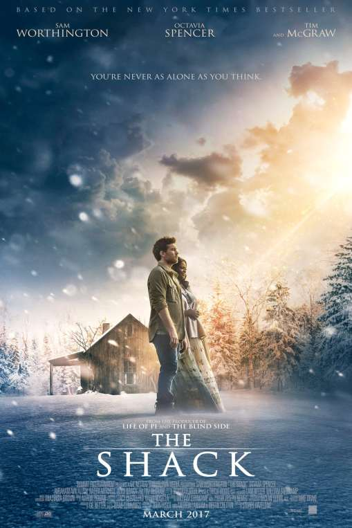 """Poster for the movie """"The Shack"""""""