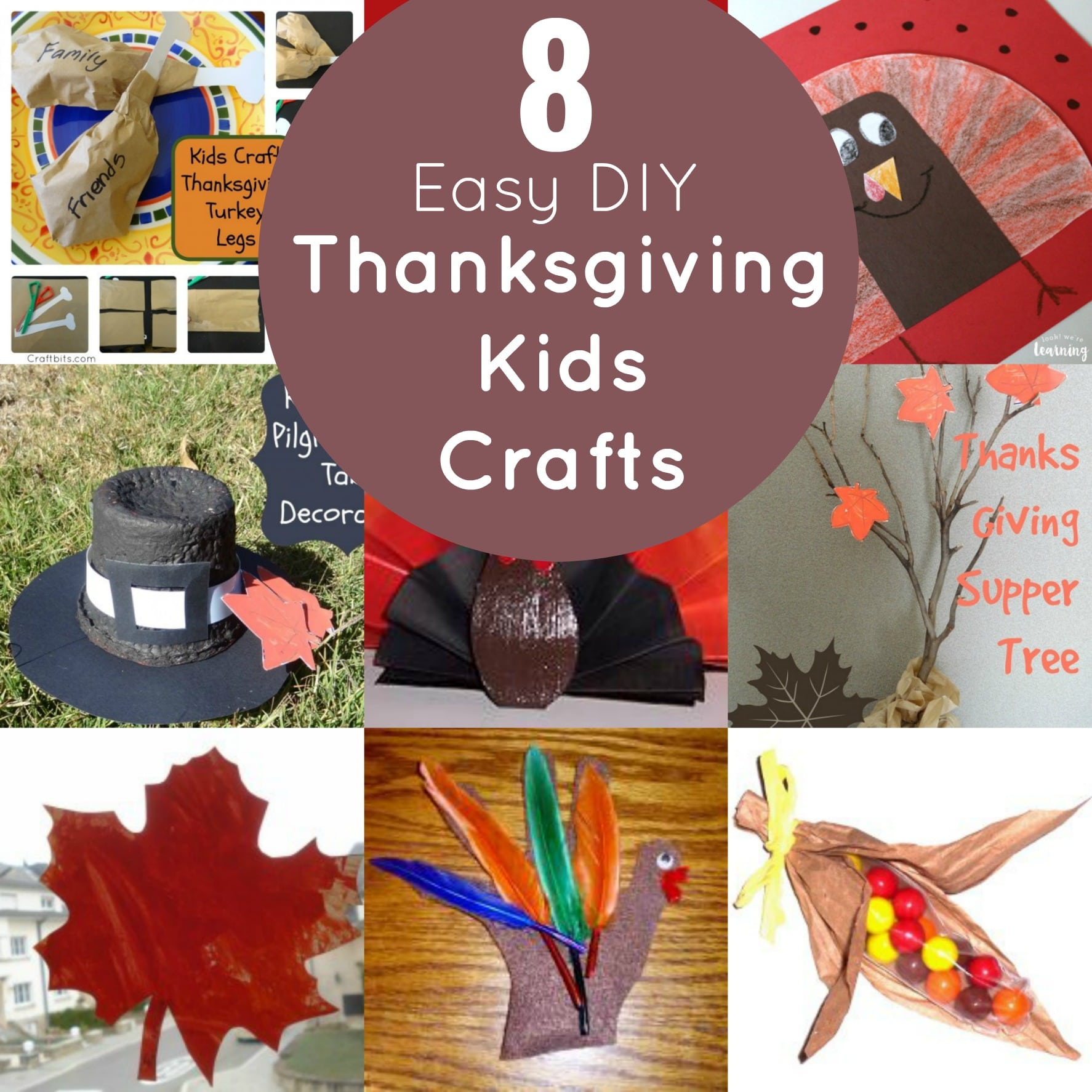 thanksgiving craft ideas pinterest 8 easy diy thanksgiving crafts for 5556