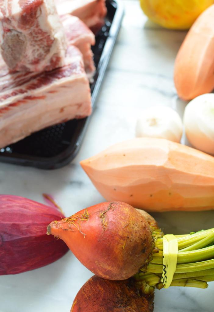 Instant Pot Short Ribs with Vegetables