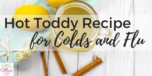 Hot Toddy Recipe for Colds and Flu