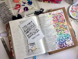 "Illustrated Faith ""Less Hustle More Jesus"" devotional kitIllustrated Faith ""Less Hustle More Jesus"" devotional kit"