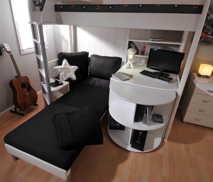 Stompa Casa 4 High Sleeper Bed The Home And Office Stores