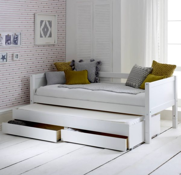 Flexa Nordic Daybed 1 Flat White Gable Ends