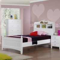 Alexia Children's White Storage Bed - The Children's ...