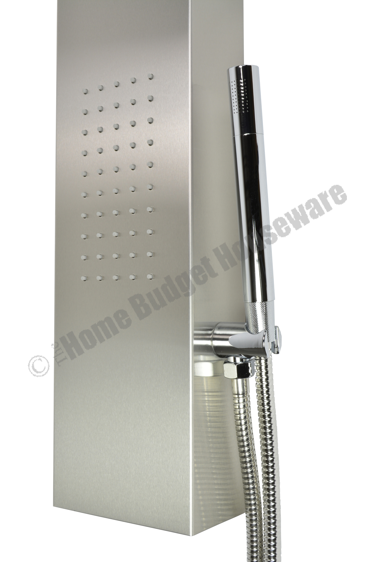 Thermostatic Stainless Steel Massage Jets Spa Shower Panel Simultaneous Function  eBay