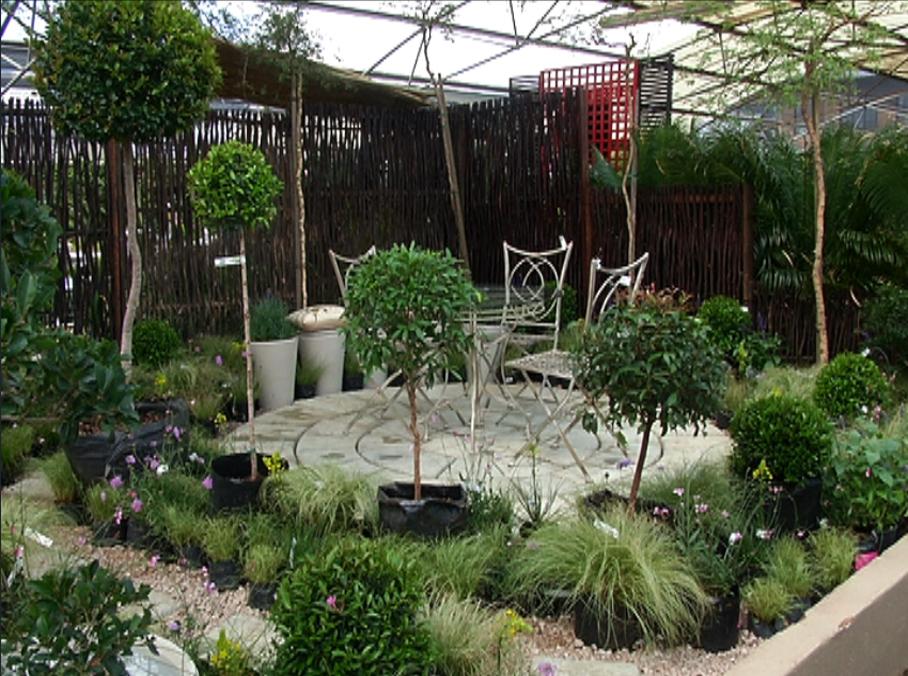 Courtyard Garden Gardening The Home Channel
